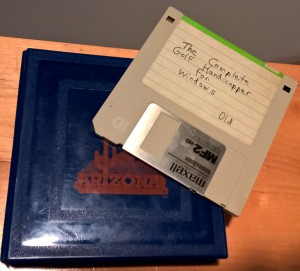 "Original 3.5"" Floppy Containing Source Code"